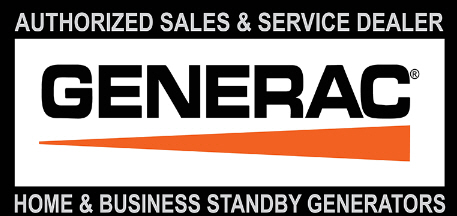 Generac Generator Sales and Service Dealer Logo